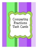 Fraction Task cards-Comparing fractions with a monster theme
