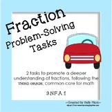 Fraction Problem Solving Tasks