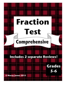 Fraction Test and Review