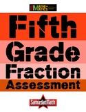 Fraction Test for Fifth (5th) Graders: Concepts, Skills and Problem Solving