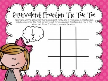 Fraction Tic Tac Toe Bundle