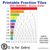 Fraction Tile Clipart - 654 Images - Commercial Use OK - Z