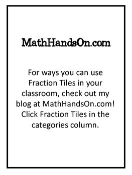 Fraction Tiles