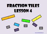 Fraction Tiles 4 (SCORM): Mixed Numbers On a Number Line