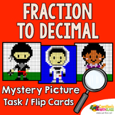 Converting Fractions To Decimals Activity, Fraction and Decimal Conversions