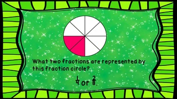 Fraction To Tenths Shake It Off Game with Brain Breaks