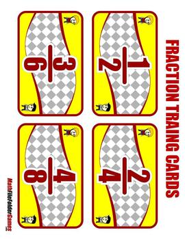 Fraction Trading a Equivalent Fractions Game