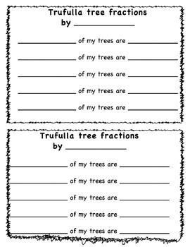 Fraction or Pattern Trufulla Trees
