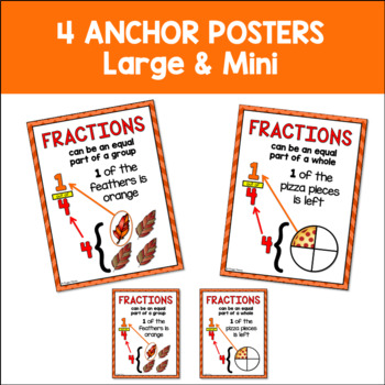 Fraction Turkey Math and Task Cards