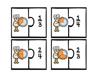 Fraction Turkey Matching