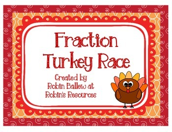 Fraction Turkey Race 4.NF.A.2