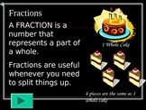 Fraction Unit:  A 5 Day Lesson