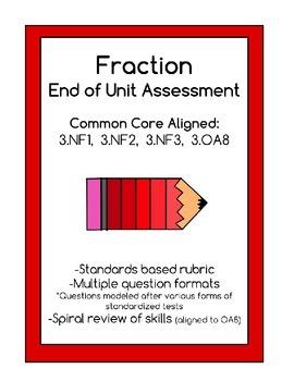 Fraction Unit Assessment