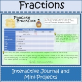 Fraction Unit Mini Project Interactive Distance Learning