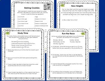 Fraction Resources, Grades 4-6