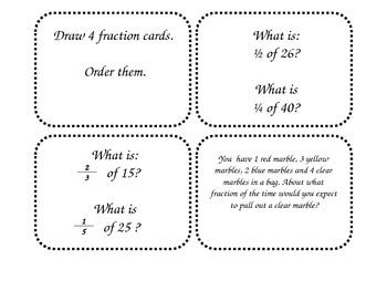 Fraction Unit Review - EDM - Grade 4