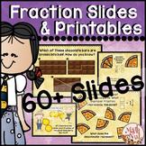 "Fraction Lessons ""Fraction Unit"" (Fraction Printables)"