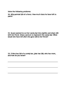Fraction Unit Test