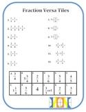 Fraction Versa Tiles