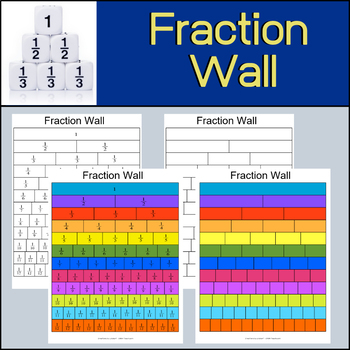 Fraction Wall | Poster | Handouts