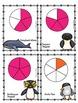 Fraction Games - Fraction War Beginner - Animal Themed!