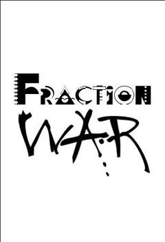 Fraction War Cards