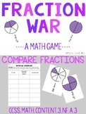 Fraction War - Compare Fractions