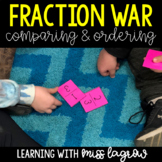 Fraction War - Equivalent & Ordering Fractions Game Center