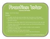Fraction War - Fractions and Models