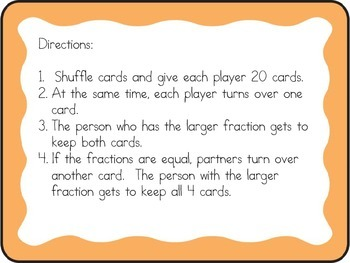 Fraction War Game
