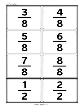 Fraction Game: Comparing Fractions War - Level 1