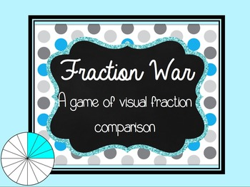 Fraction Math Center Game