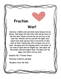 Fraction War-Valentine's Themed Center