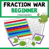 Fraction Games - Fraction War Beginner