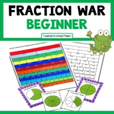Fraction Games - Fraction War Beginner