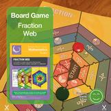 Fraction Web Board Game