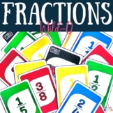 Fraction Game Wild-O {Plays like UNO}