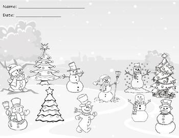 Fraction Winter Wonderland