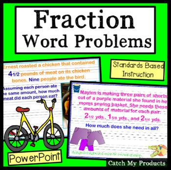 Fraction Word Problems Power Point