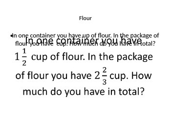 Fraction Word Problems