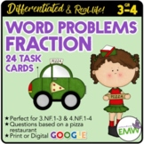 Fraction Word or Story Problems