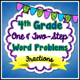 Fraction Word Problems - 4th Grade