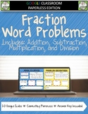 Fraction Word Problems Google Classroom