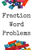 Fraction Word Problems, mixed operations
