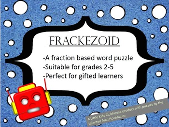 Fraction Word Puzzle