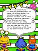 Fraction Monster Match-Up! Fraction Words & Symbols Matching Game