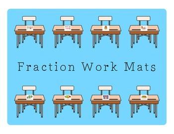 Fraction Work Mats
