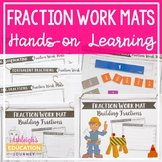 Fraction Work Mats - RTI Interventions and More