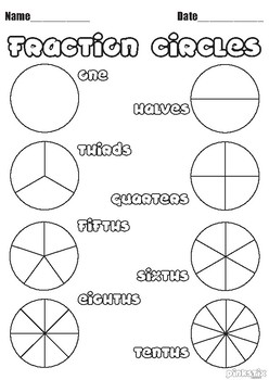 Fraction Worksheet Pack