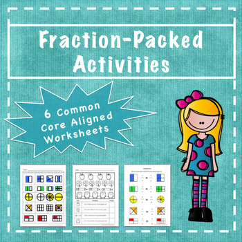 Fraction Worksheets (Common Core Aligned)